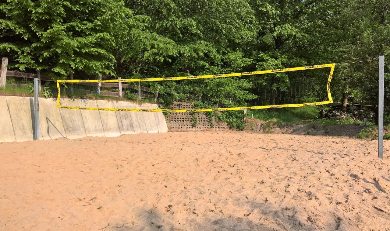 Lankau-Imressionen 18.02.2021 - Beach-Volleyball-Feld